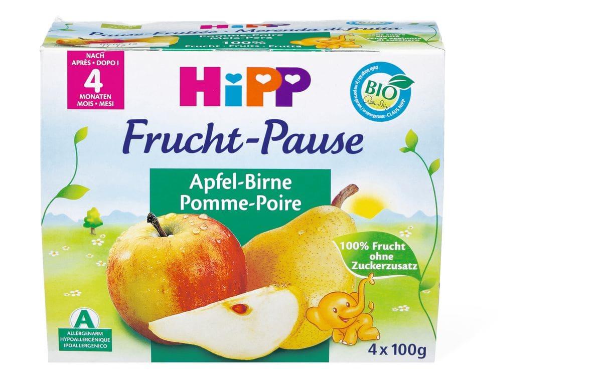 Bio HiPP Fruchtpause Apfel-Birne