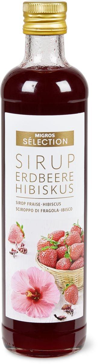 Sélection Sirup Erdbeere-Hibiskus