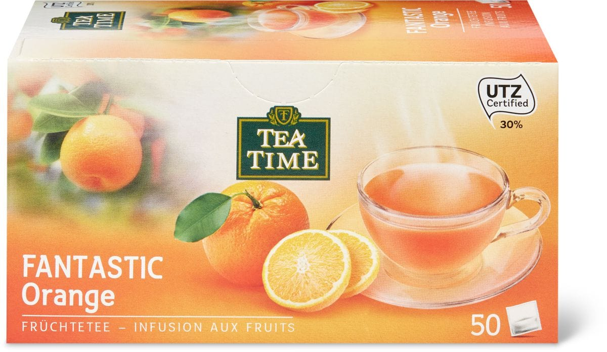 Tea Time Fantastic Orange