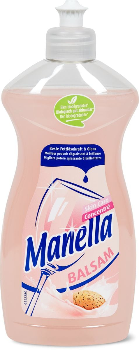 Manella Balsam Skin Care liquide-vaisselle