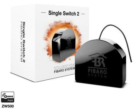 Fibaro Z-Wave Single Switch 2 Bottone intelligente