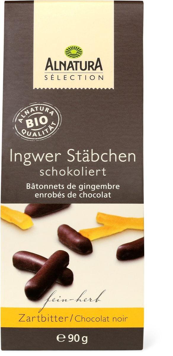 Alnatura bastoncini zenzero cioccolat
