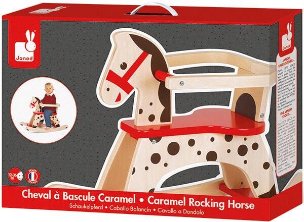 Janod cavallo a dondolo Caramel Set di giocattoli