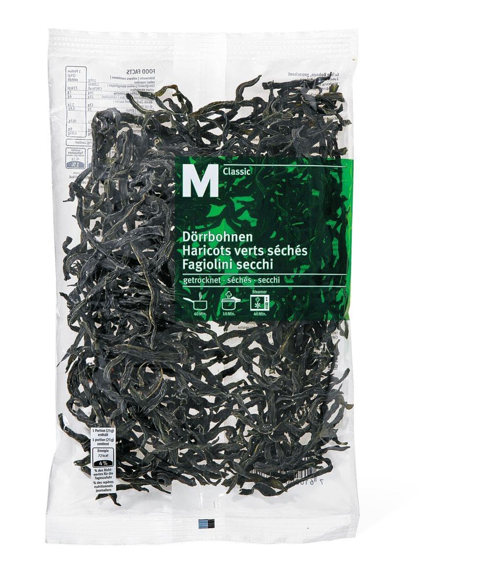 M-Classic Haricots verts séchés