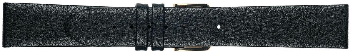 Uhrenarmband TEXAS schwarz 12mm