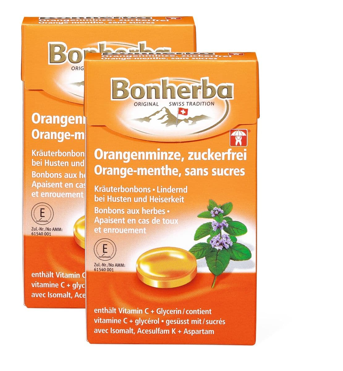 Bonherba bonbon orange-menthe