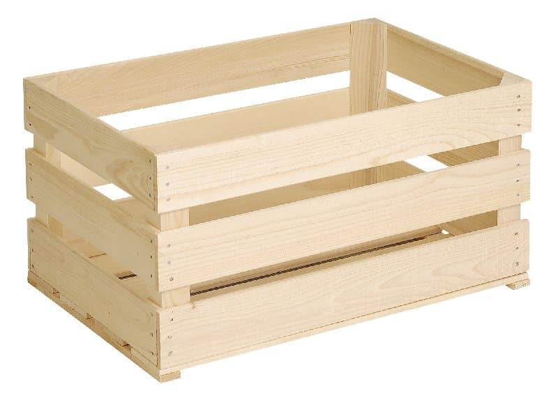 Lavorare Il Legno Grezzo : Do it garden cassetta per frutta di legno grezzo migros