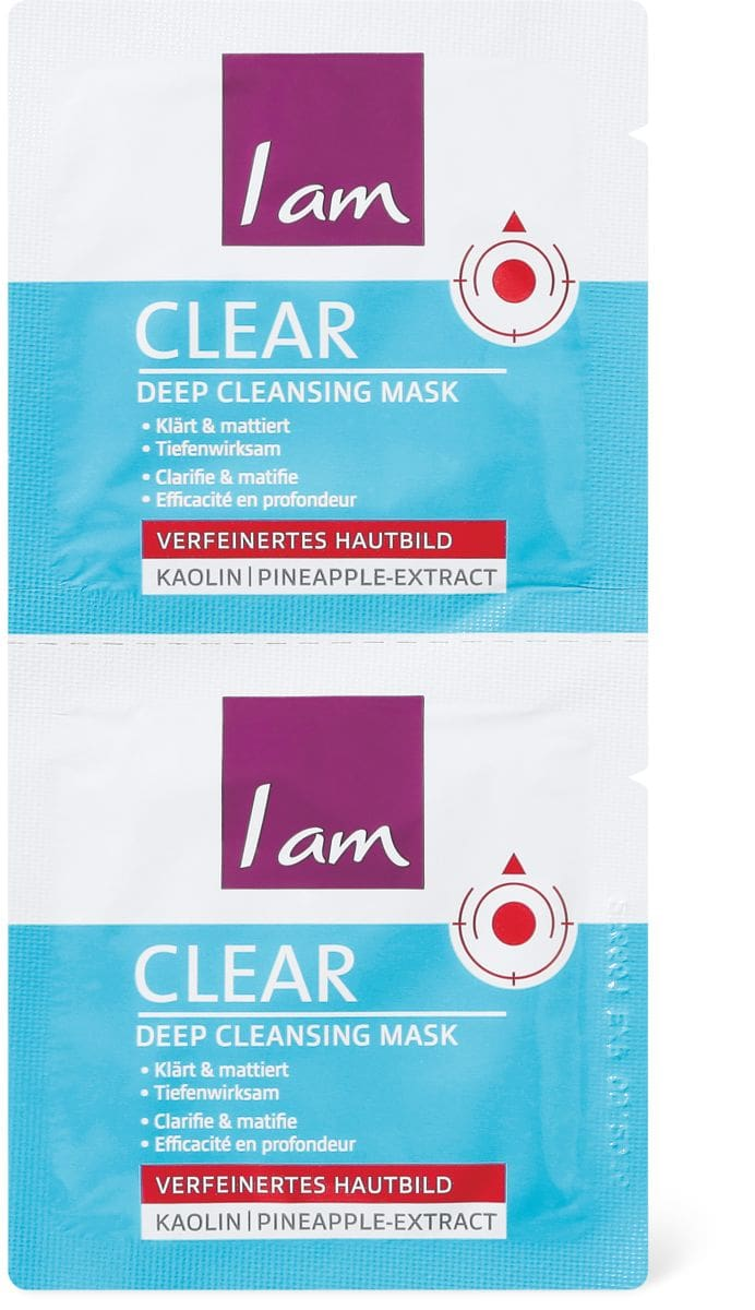 I am Clear Maschera purificante