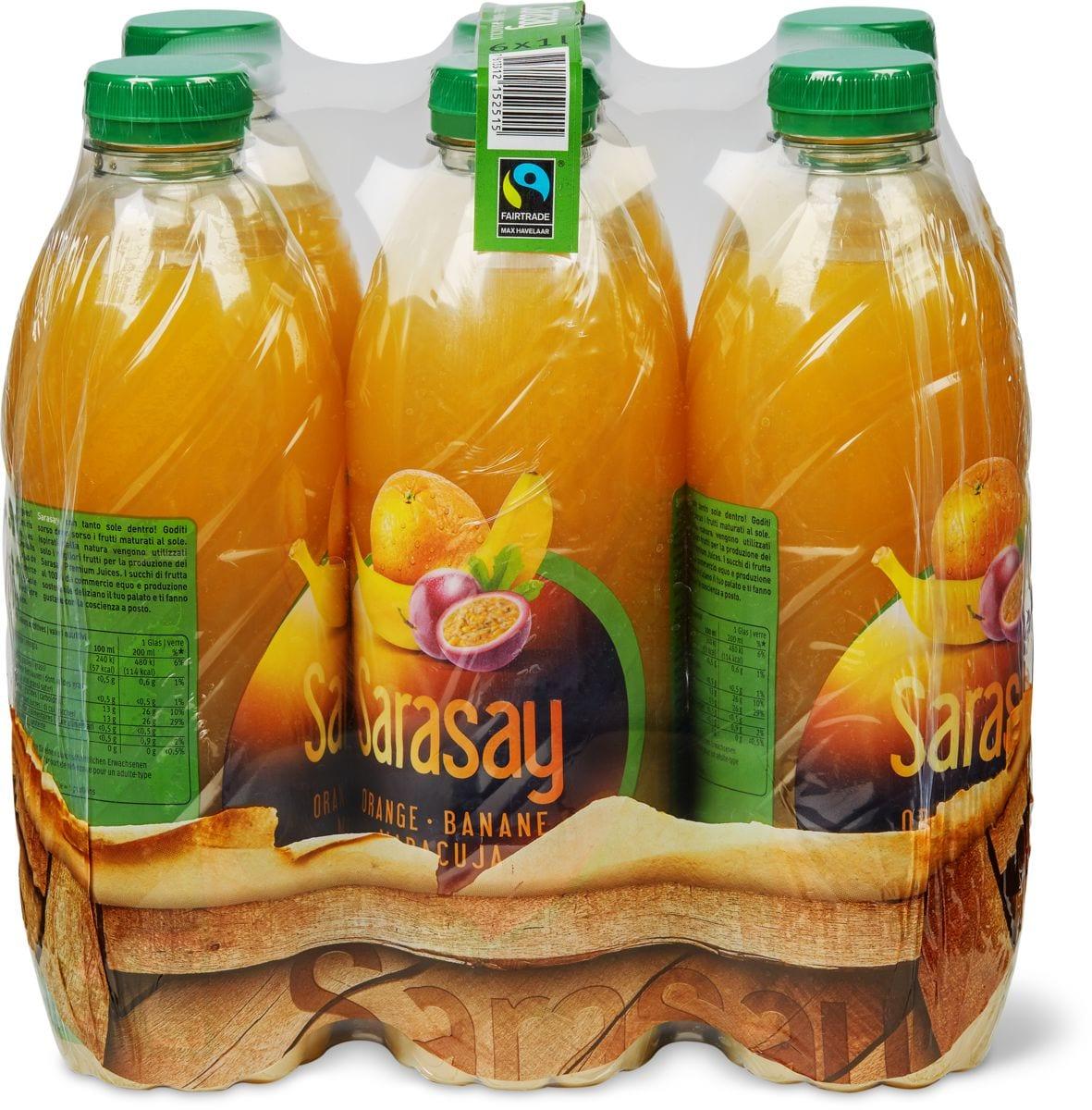 Sarasay Max Havelaar Orange-banane