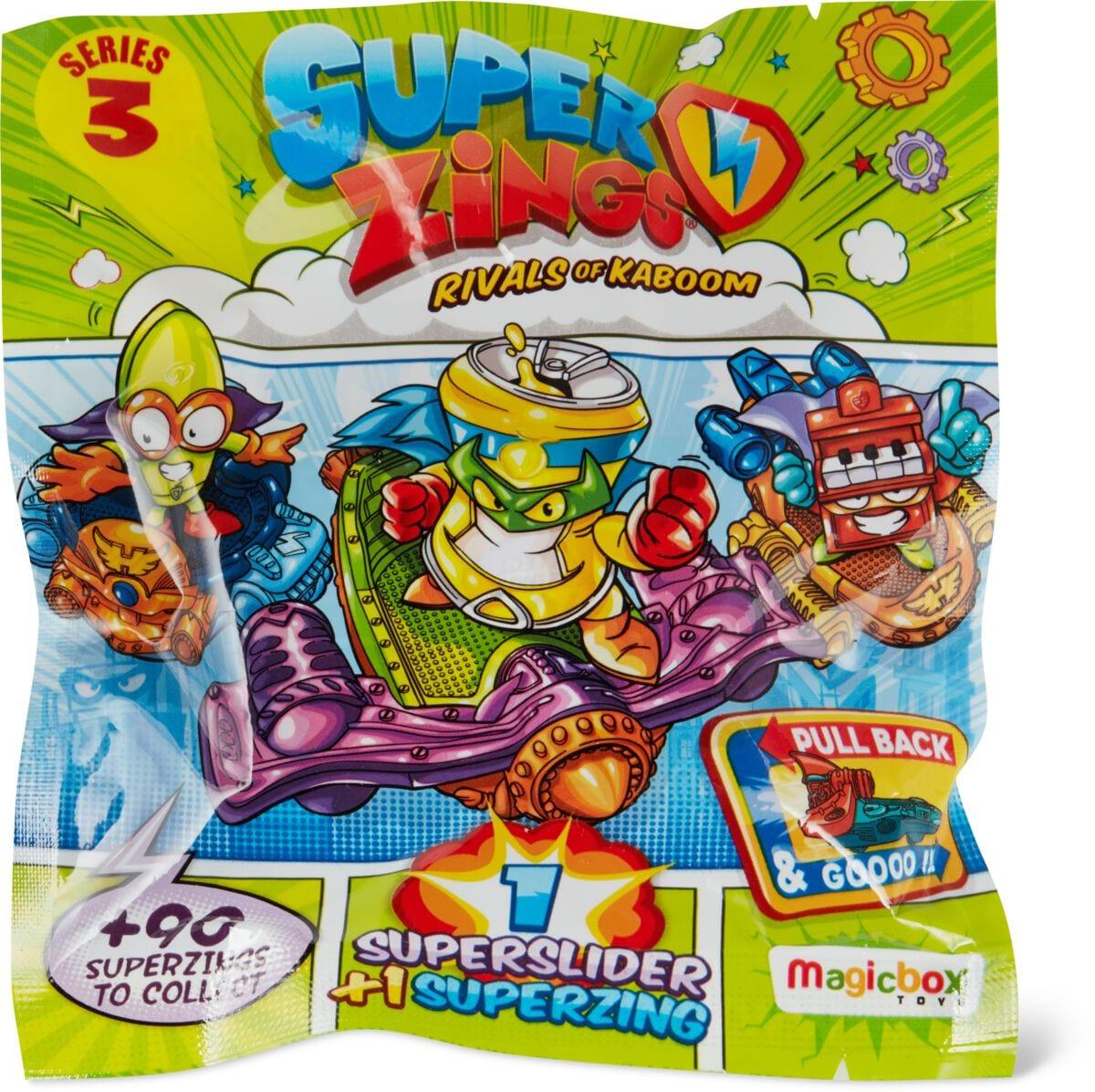 Superzings 3 24 Supersliders Spielfigur