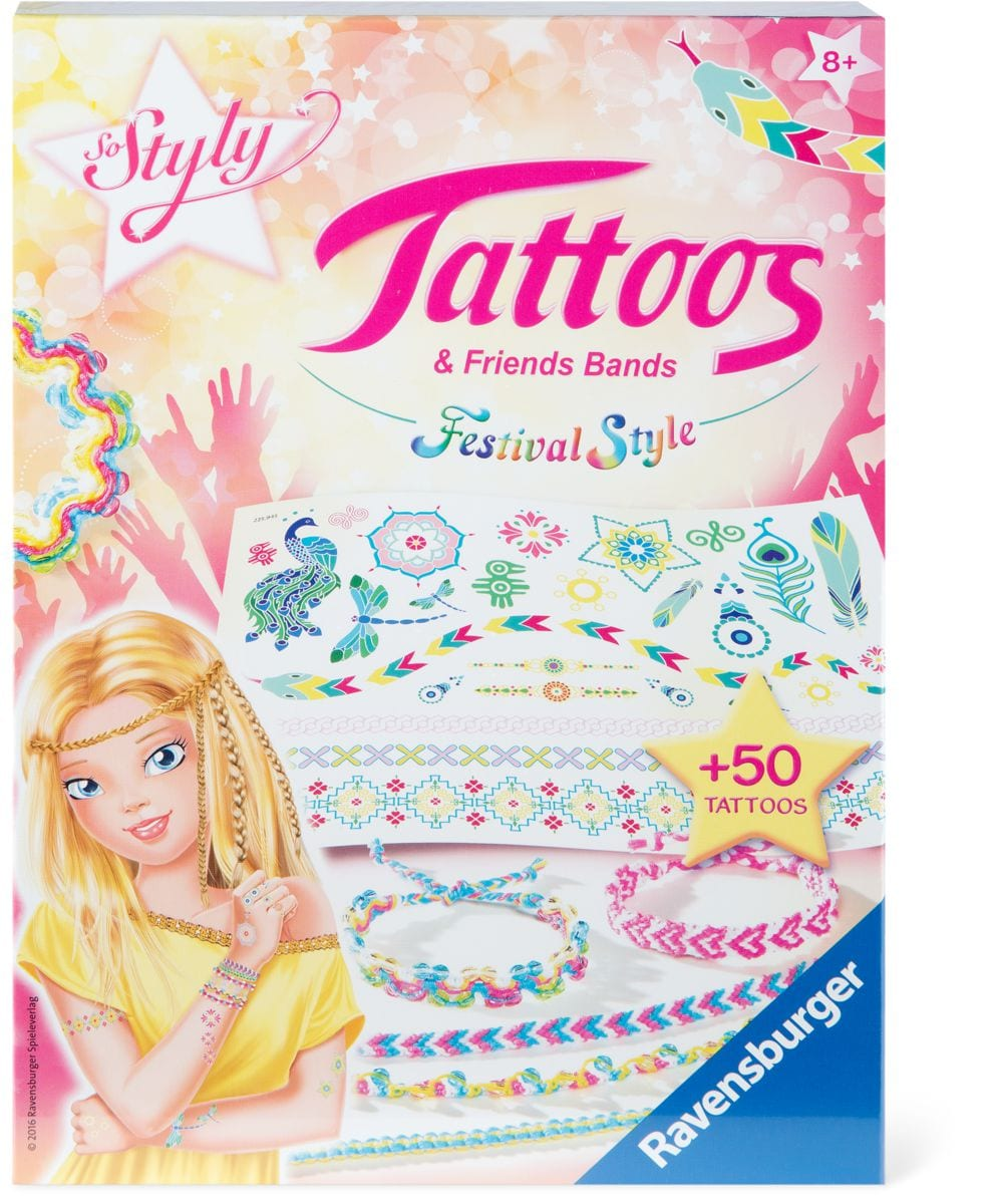 Tattos & Friendsbands - Festival Style