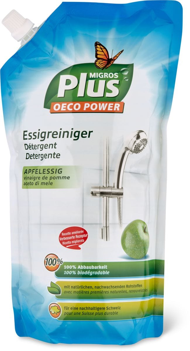 M-Plus Recharge Détergent Vinaigre
