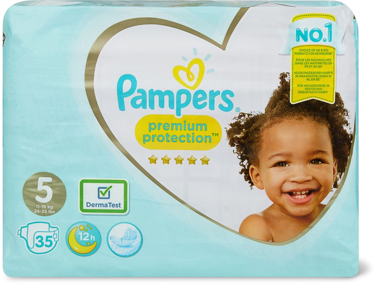 Pampers Premium Protection Gr. 5, 11-16kg