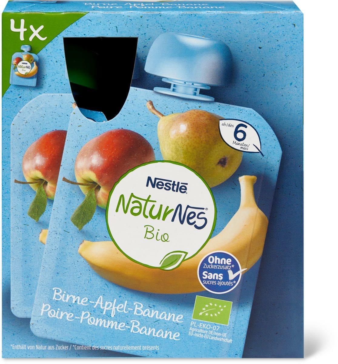 Nestlé Bio pomme banane