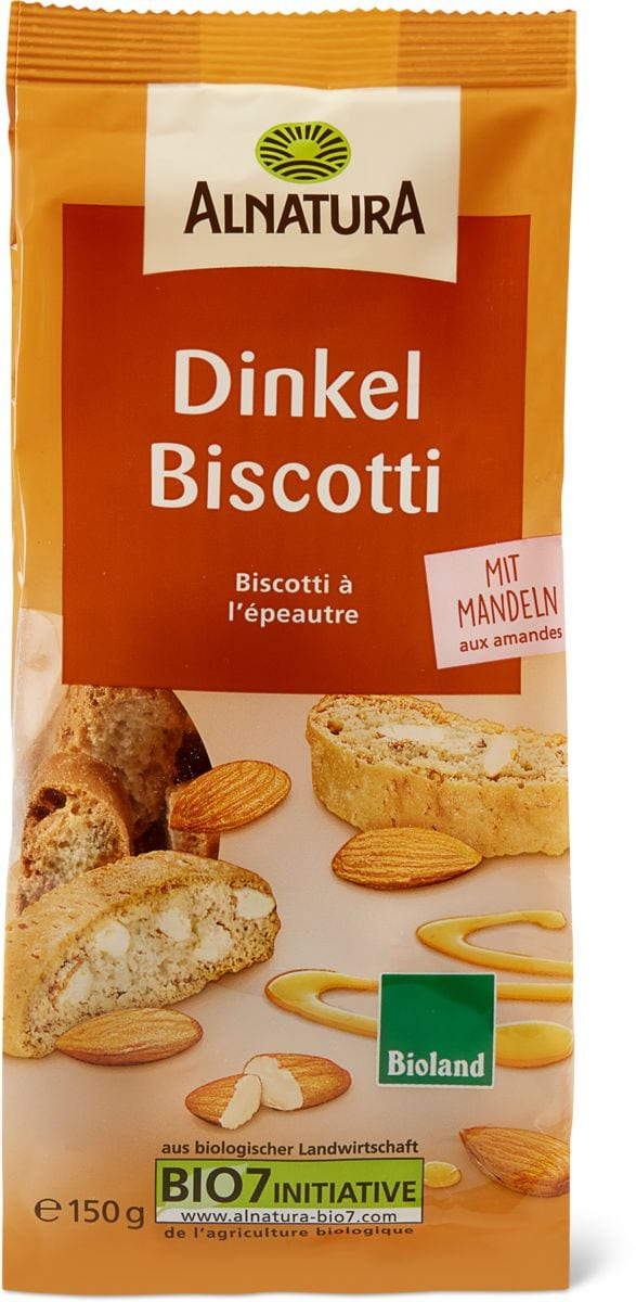Alnatura biscuits Epeautre amandes