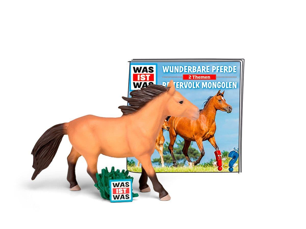Tonies Hörbuch WAS IST WAS - Wunderbare Pferde/Reitervolk Mongolen  (DE)