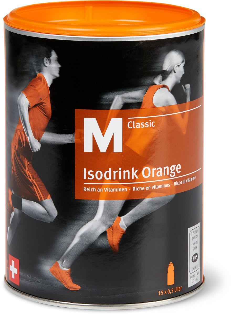 M-Classic isodrink Orange