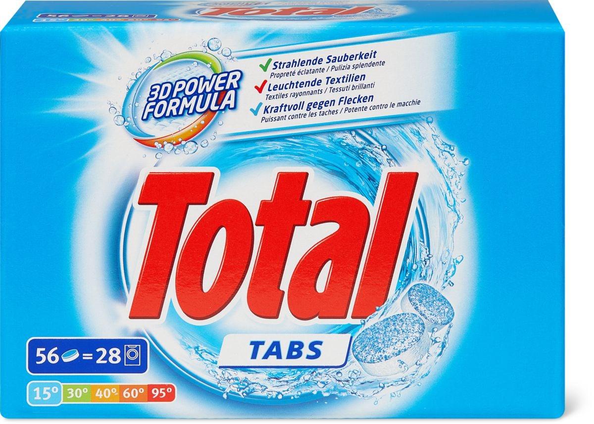 Total Waschmittel Tabs 56 Stk.