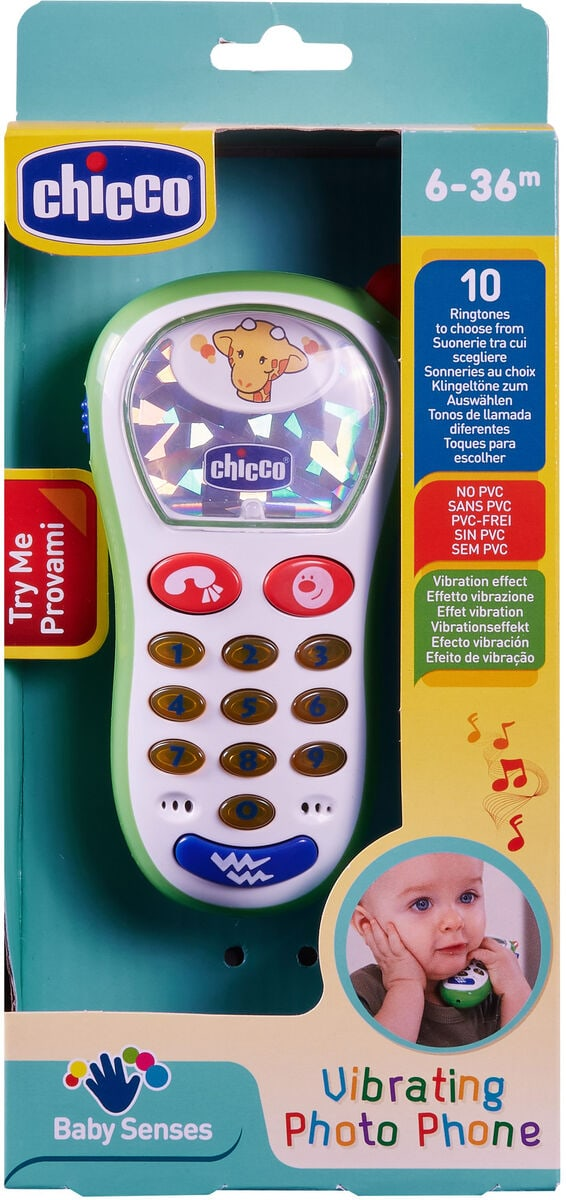 Chicco Telefonino Vibra & Scatta Giochi educativi