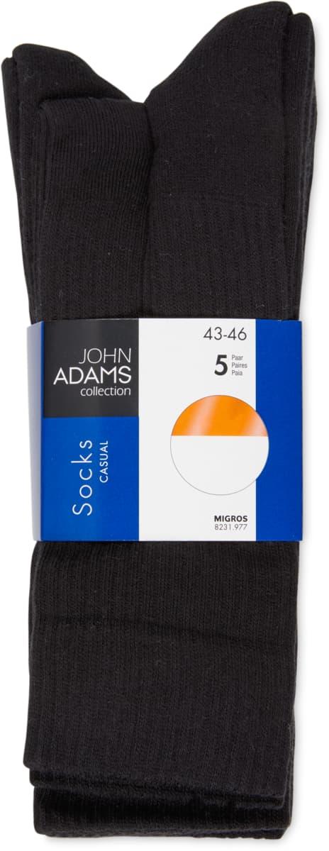 John Adams Herren-Sportsocken im 5er-Pack