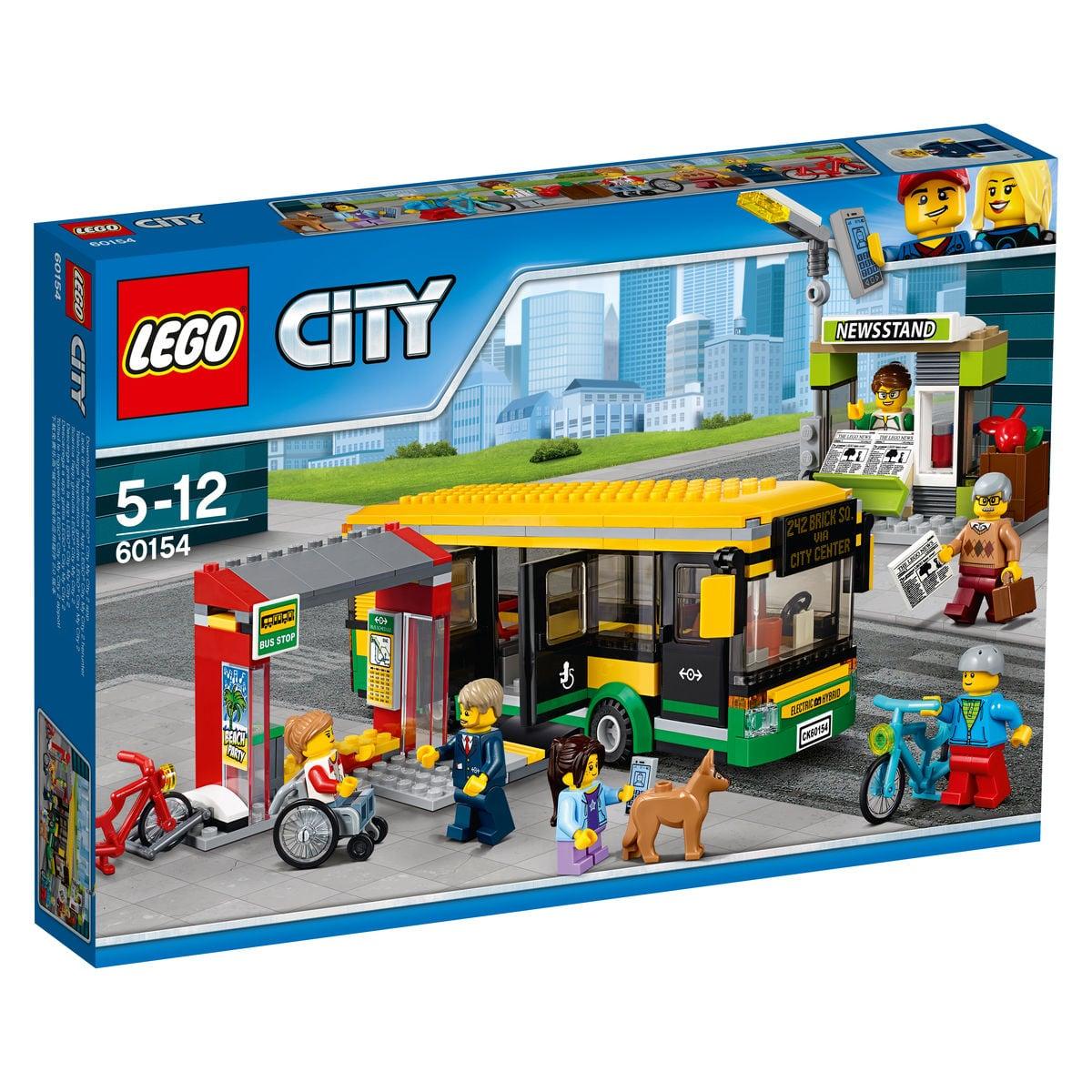 LEGO City Stazione degli autobus 60154