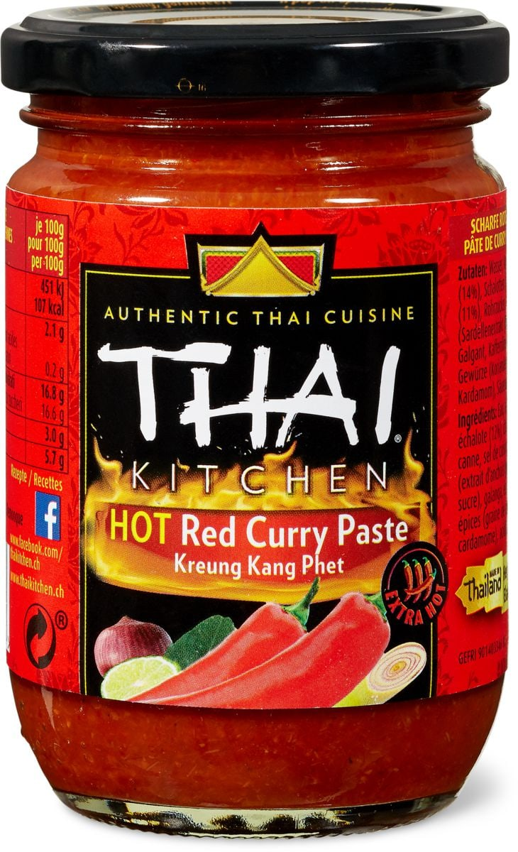 Thai Kitchen Hot red curry paste