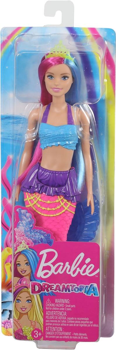 Barbie GJK08 Dreamtopia Meerjungfrau #1 Puppe