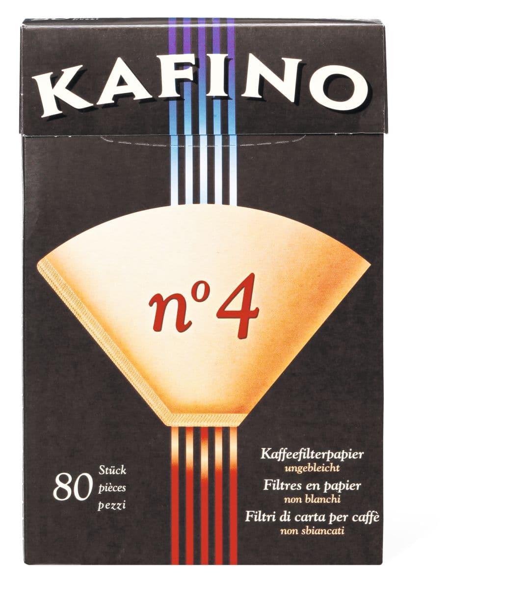 Kafino n°4 Filtri Carta caffè