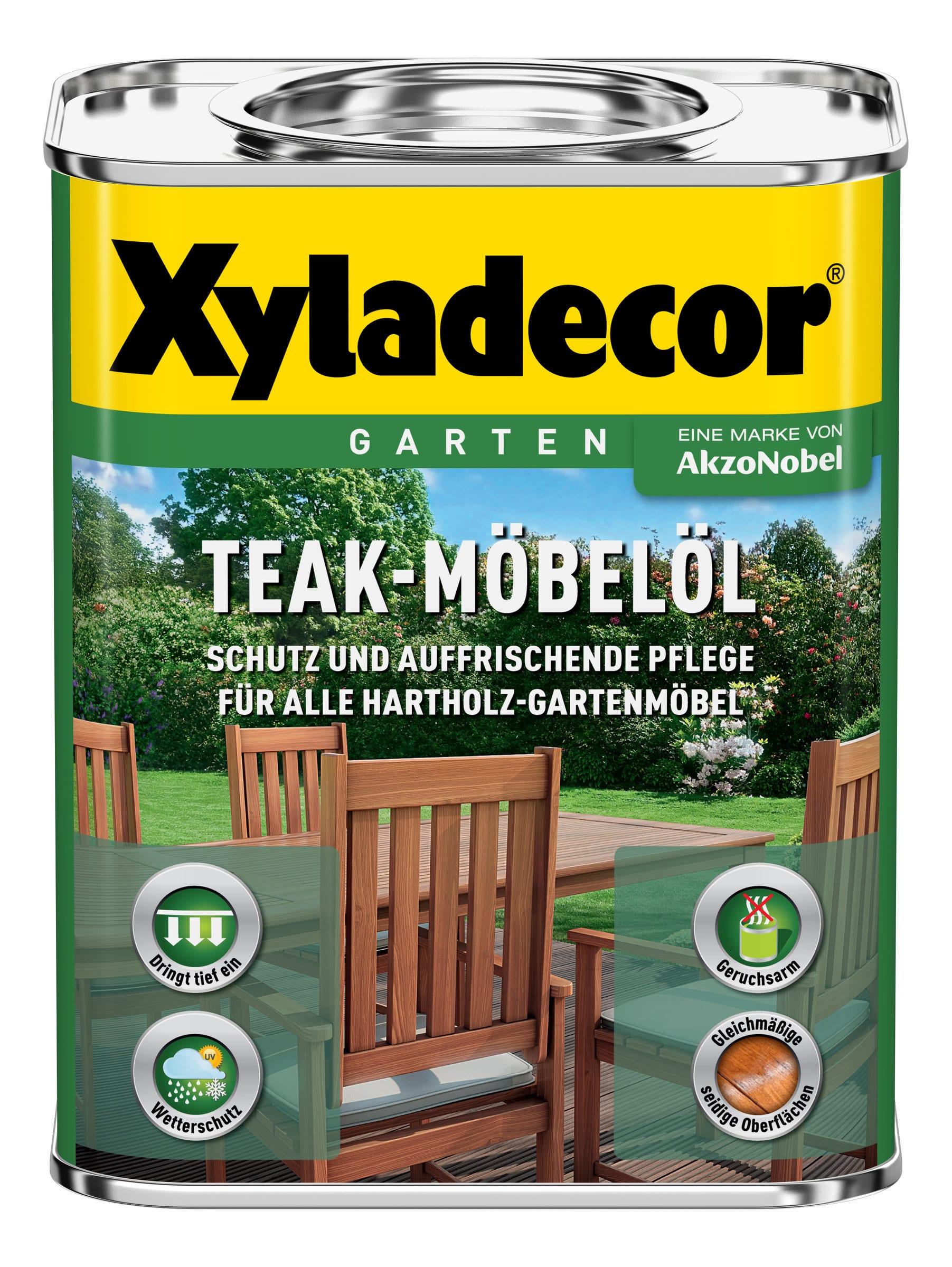 Xyladecor huile pour meubles en teck migros for Migros meubles
