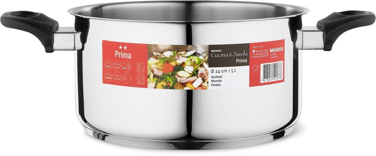 Cucina & Tavola Kochtopf 24cm 4.0L PRIMA