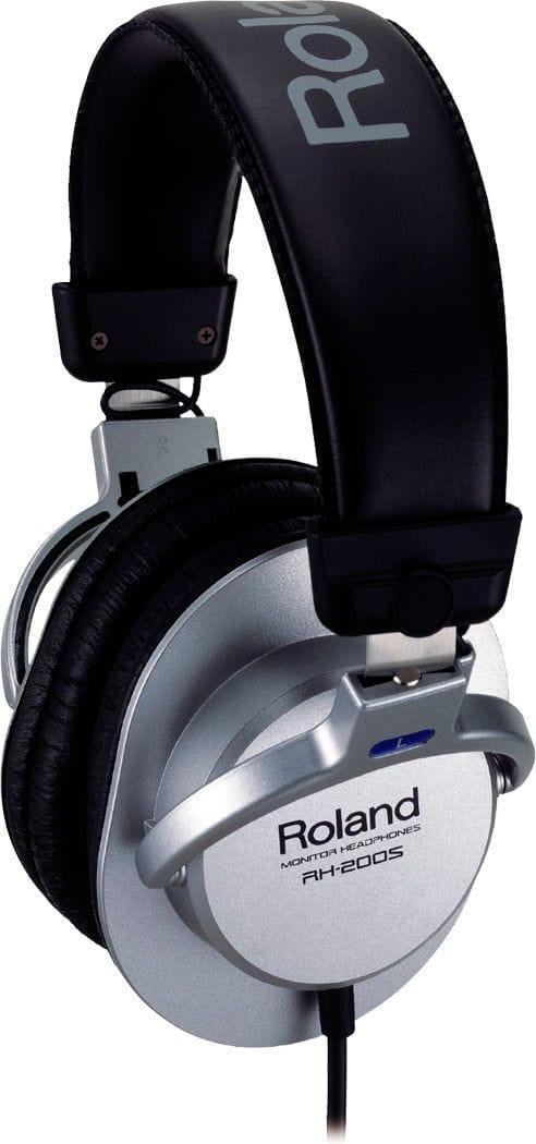 Roland RH-200S - Silber Over-Ear Kopfhörer