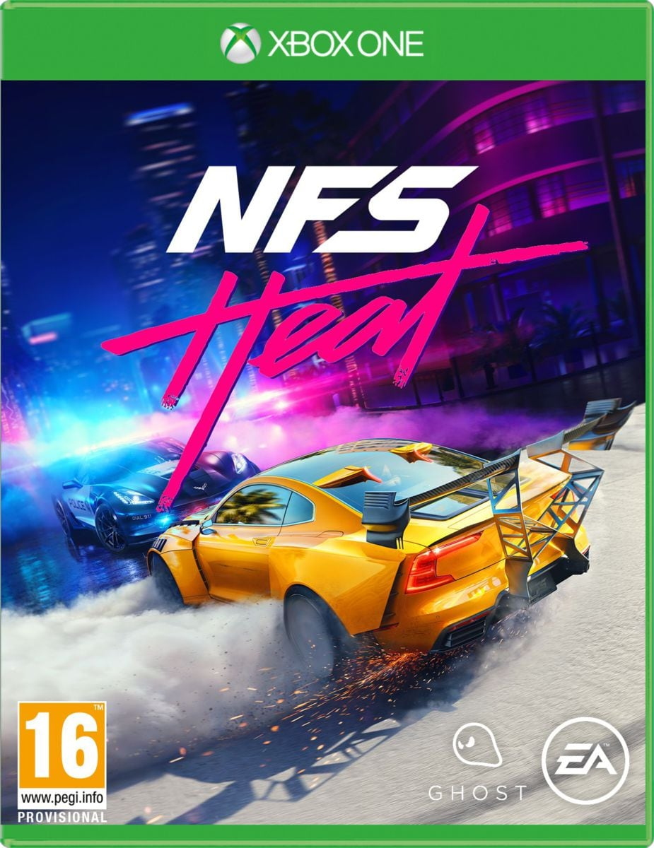 Xbox One - Need for Speed Heat  Box