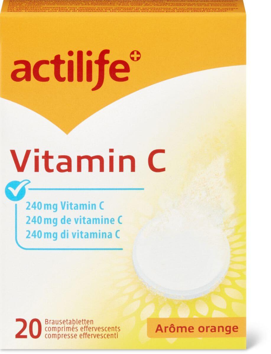 Actilife vitamine C Arôme orange