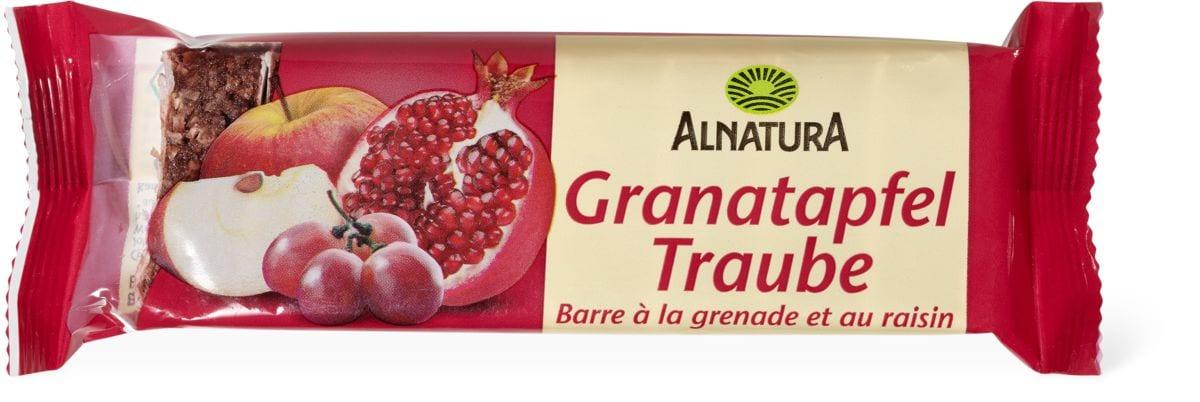 Alnatura barre Fruitée grenade