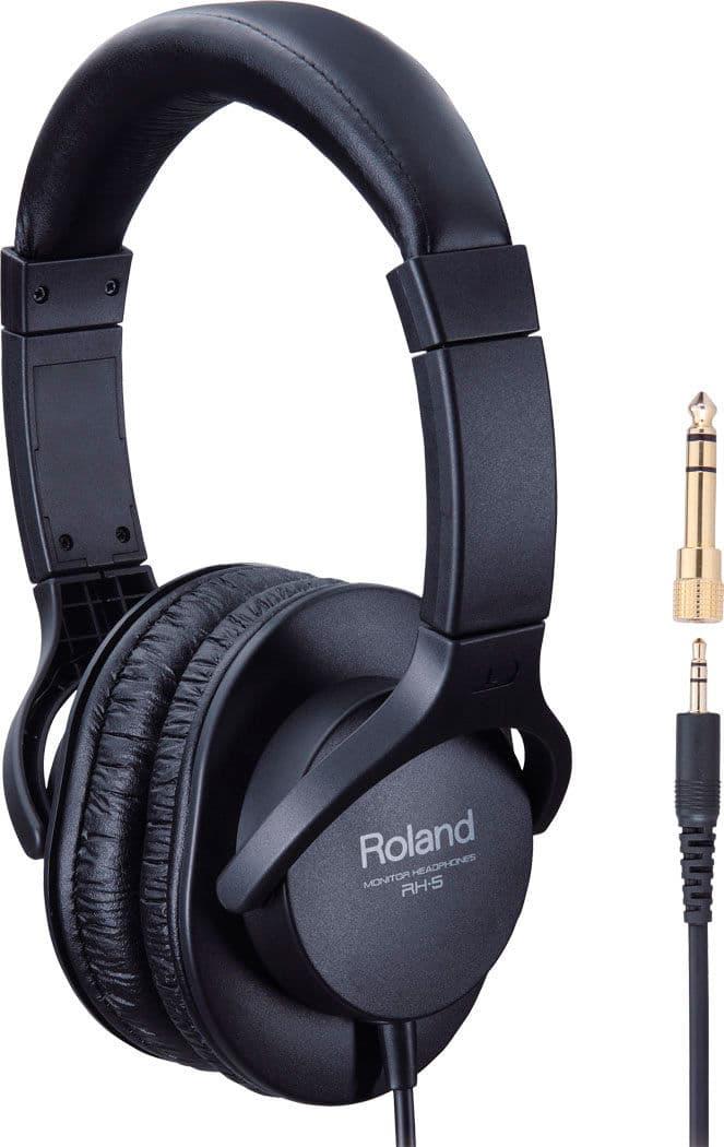 Roland RH-5 - Schwarz Over-Ear Kopfhörer