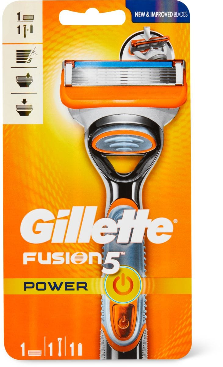 Gillette Fusion Power Rasierer