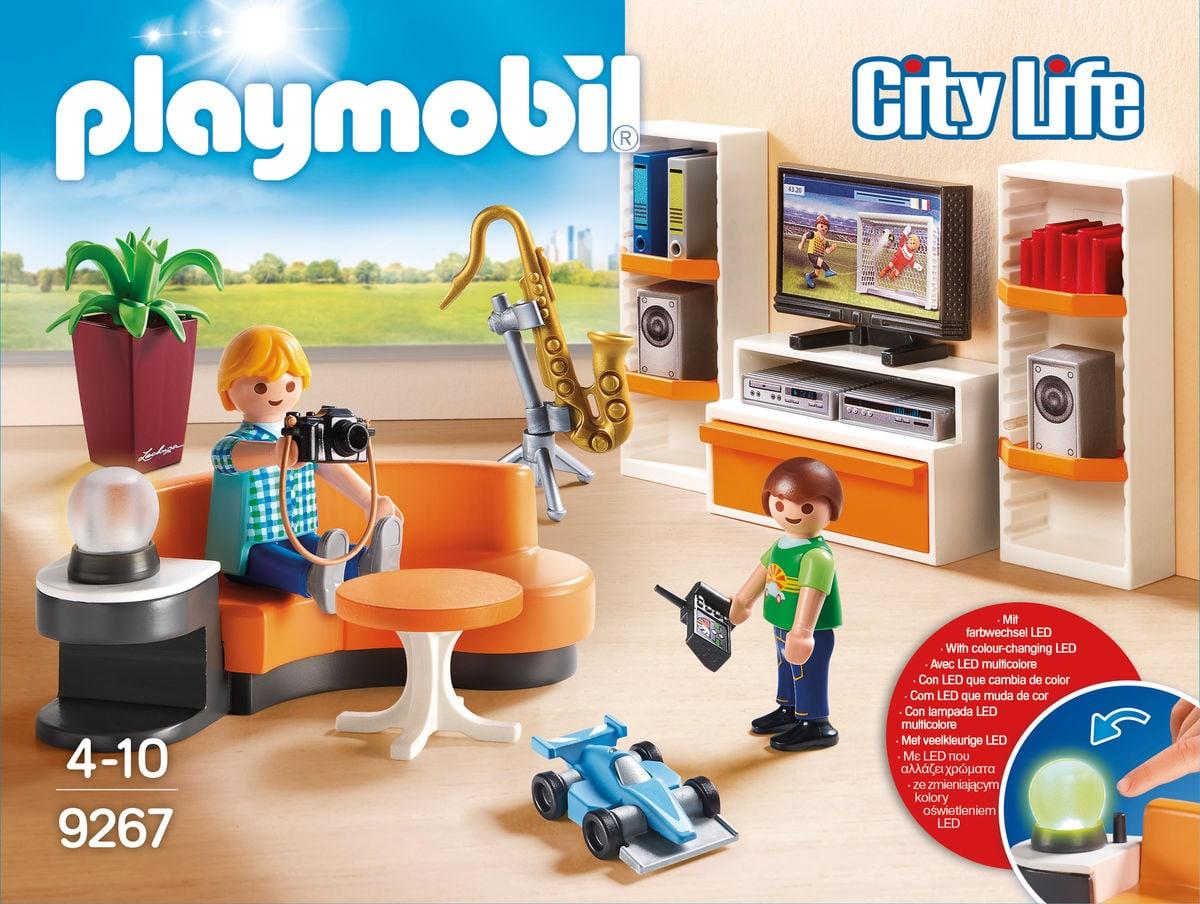 Playmobil City Soggiorno con mobile TV  9267