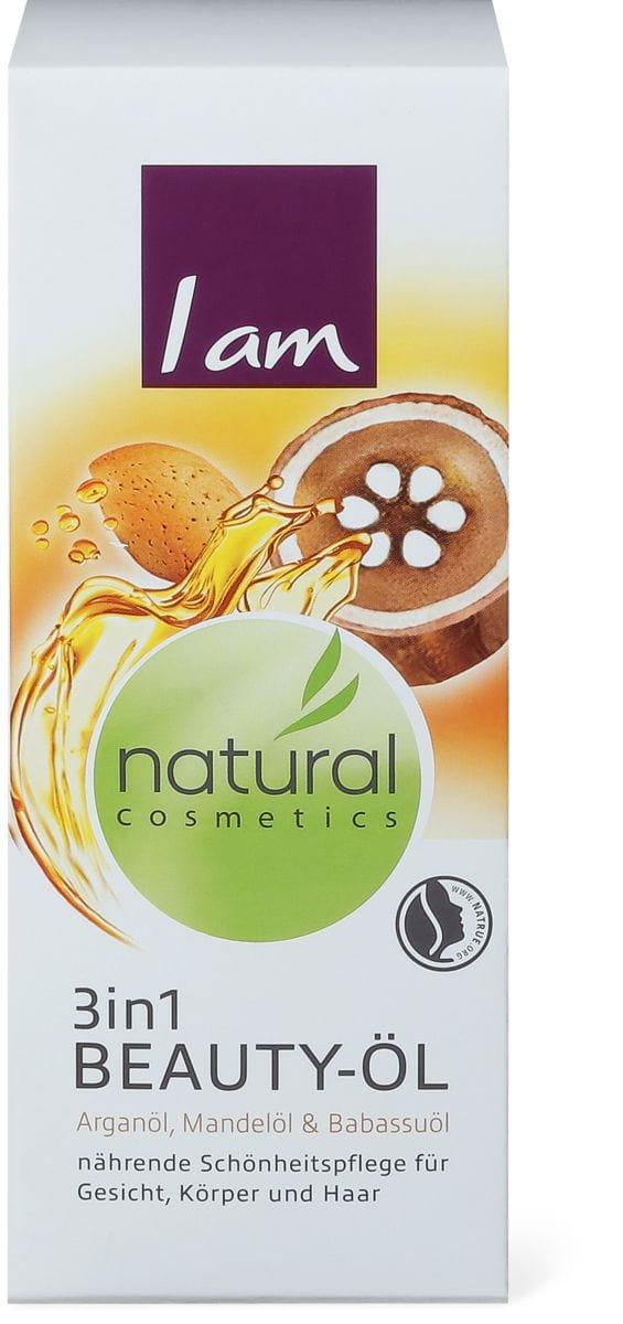 I am Natural Cosmetics 3in1 olio di bellezza nutriente