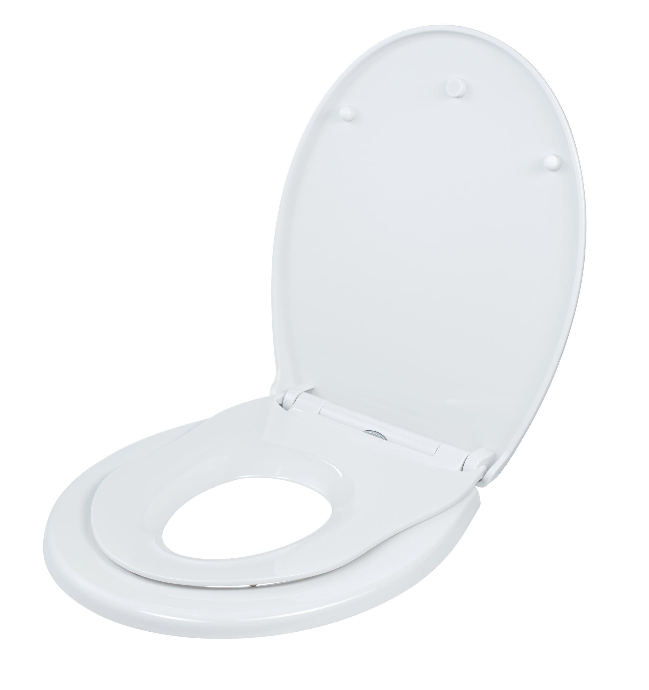 diaqua Sedile WC bambini Tino Slow Down bianco