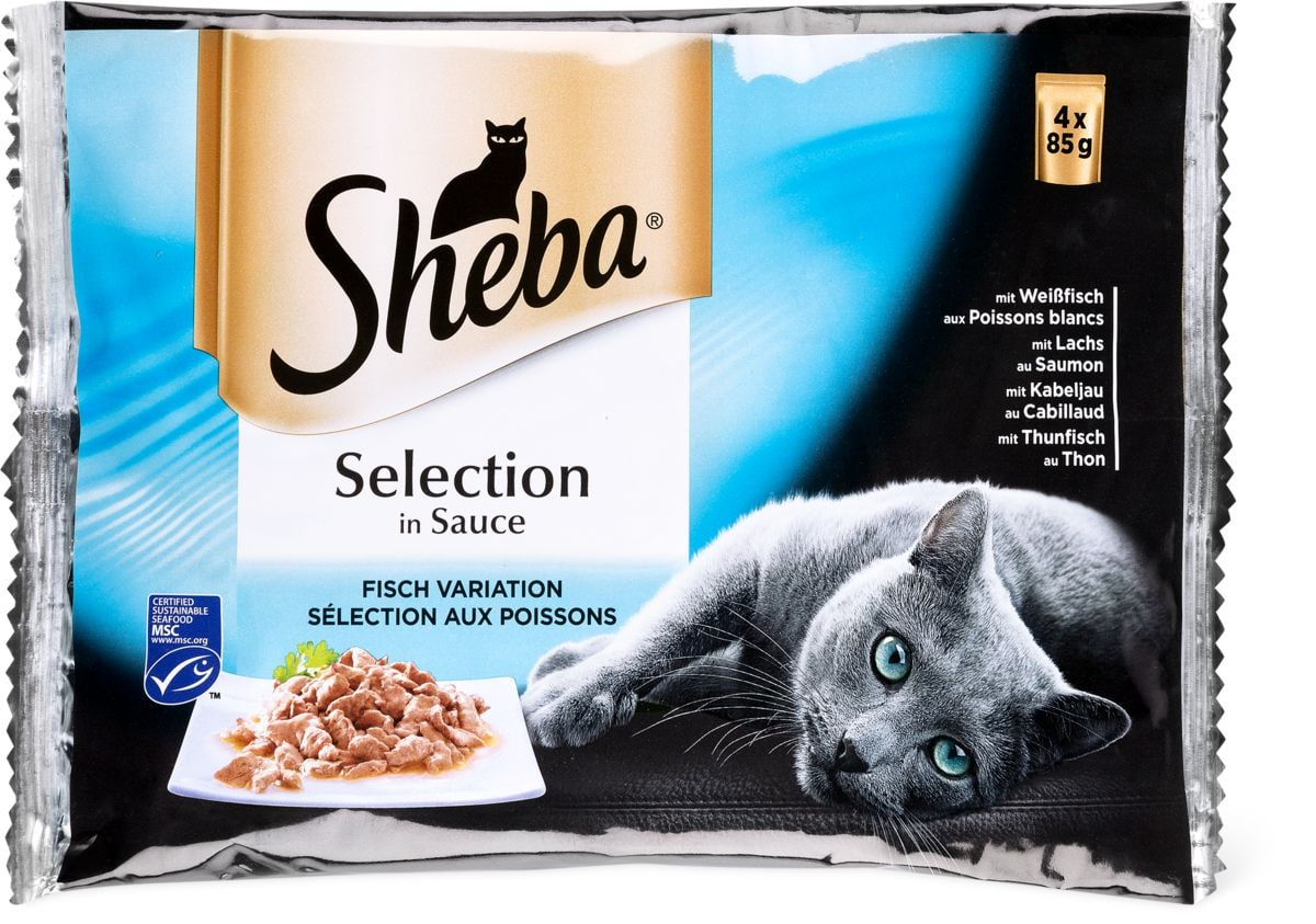 Sheba Selection Sauce poisson