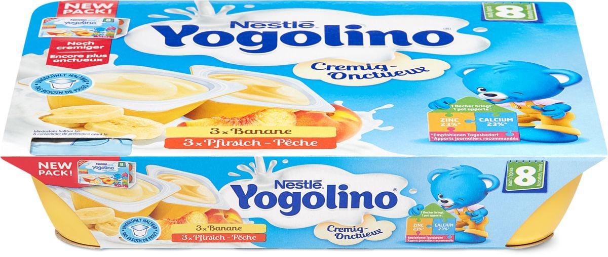 Nestlé Jogolino Banane pêche