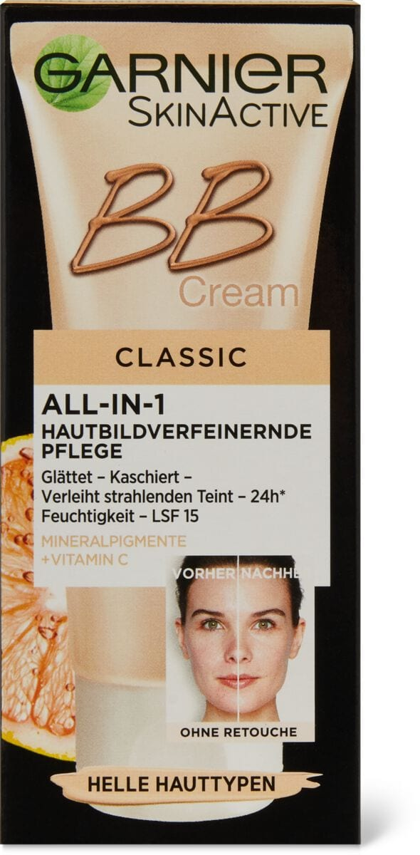 Garnier Miracle Skin B.B. creme p.claires
