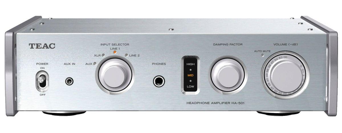 TEAC HA-501-S - Silber Kopfhörerverstärker