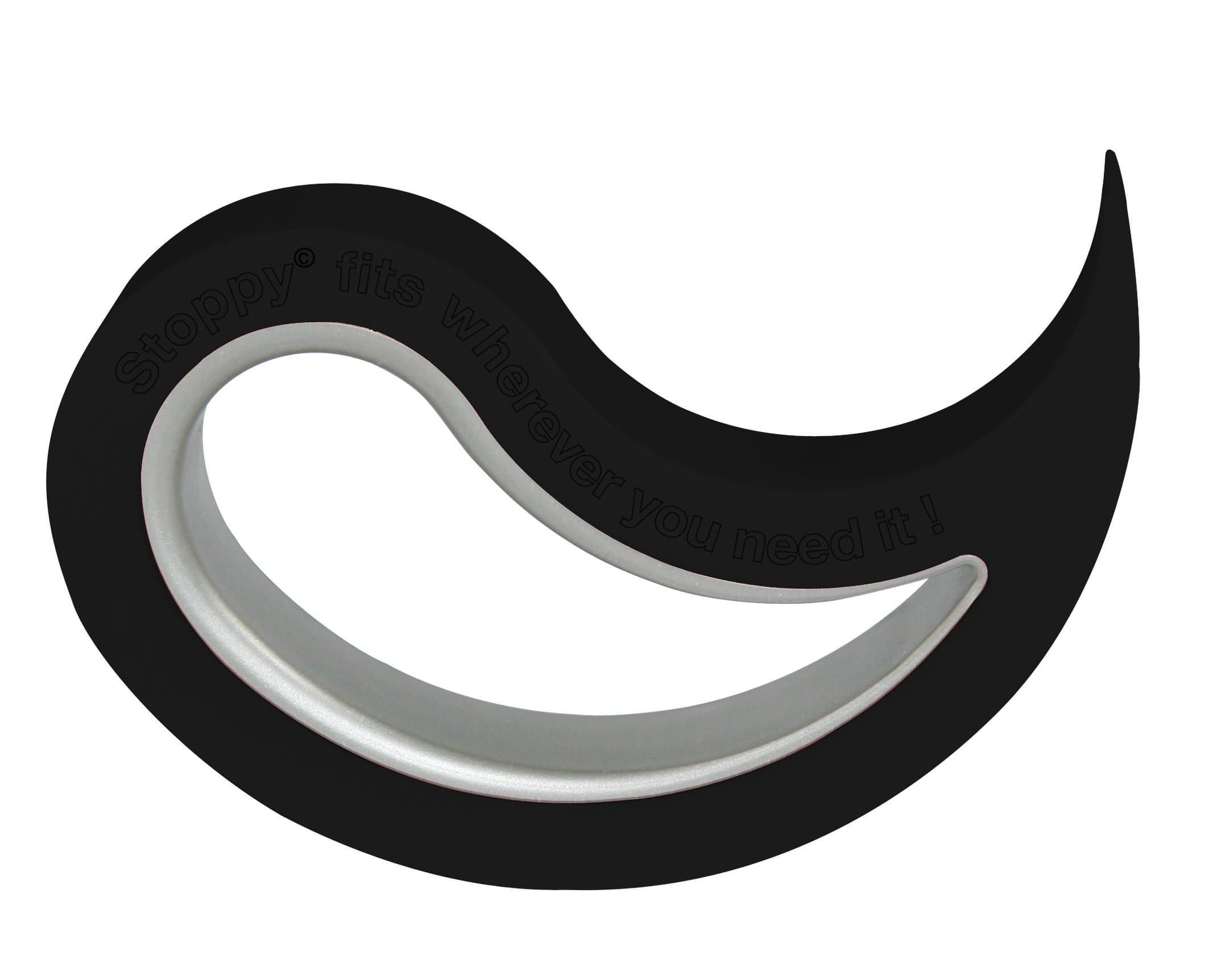 stoppi t r und fensterstopper stoppy schwarz migros. Black Bedroom Furniture Sets. Home Design Ideas