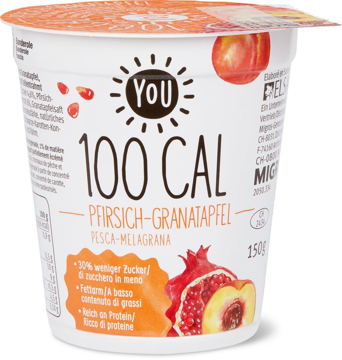 YOU 100Cal Pfirsich-Granatapfel