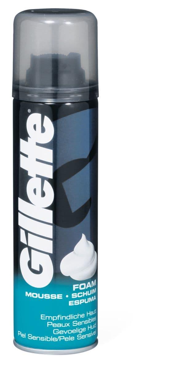 Gillette Foam Peaux sensibles