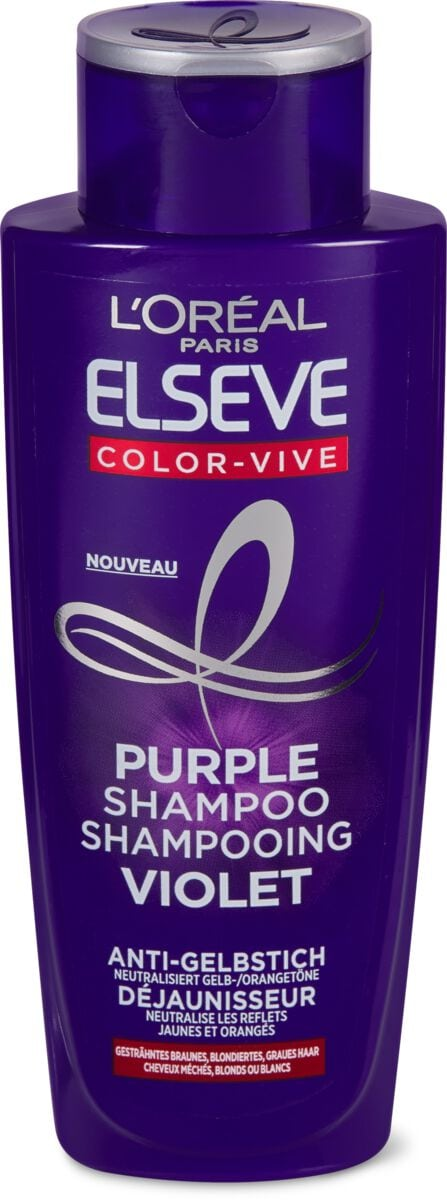 L'Oréal Elseve Purple Shampoo