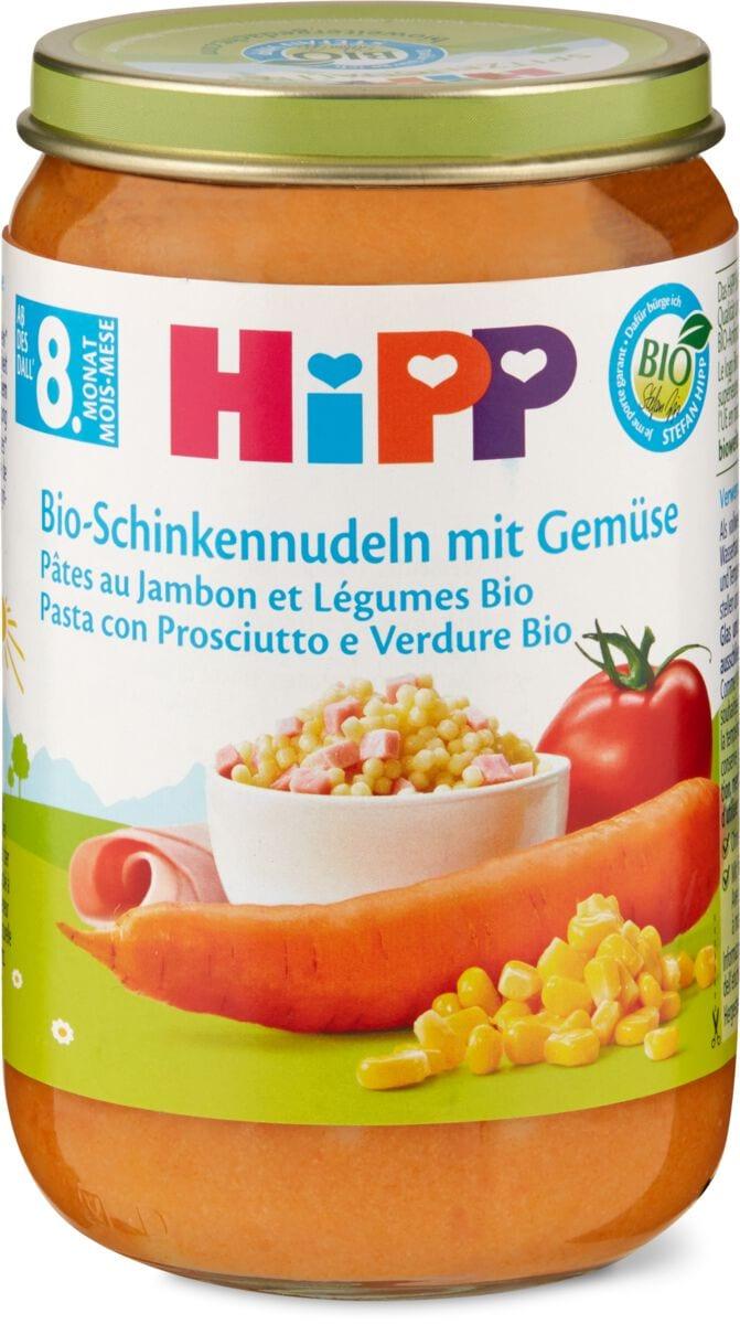 Bio HiPP Pâtes au jambon et légumes