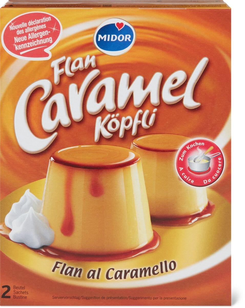 Flan Caramel Köpfli