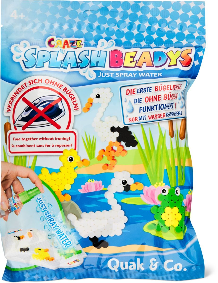CRAZE Splash Beadys Starter Bag Set di bricolage